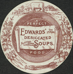 Advert for Edward's Desiccated Soup 4296